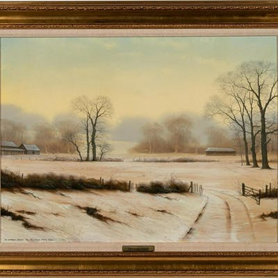"Michael John Hill ""December Down"" Landscape"