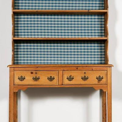 19th Century English Pine Hutch