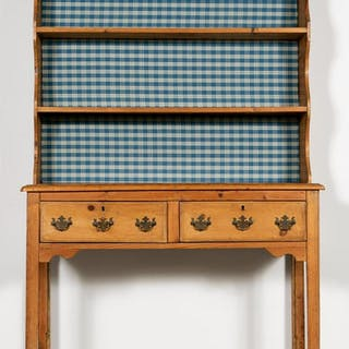 19th Century English Pine Hutch