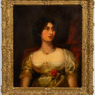 Circle of William Beechey Oil Portrait of a Lady