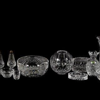14 PC., Waterford Crystal Tableware Accessories