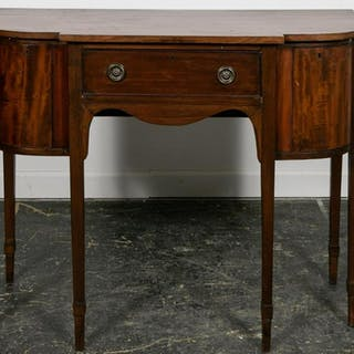 Small English Hepplewhite Sideboard, 19th C.