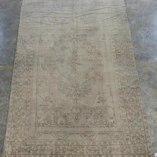"Handwoven Anatolian Area Carpet 10' 8"" x 5' 9"""
