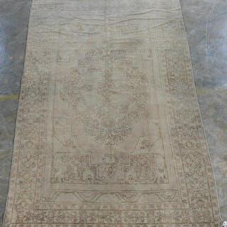 "Handwoven Anatolian Area Carpet 10' 8"" x 5' 9"""