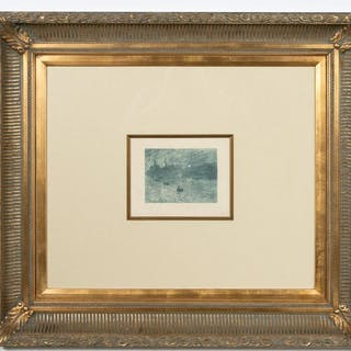"Claude Monet, ""Soleil Levant"" Heliogravure, C.1874"