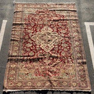 "Fine Handwoven Anatolian Carpet, 6' 6"" x 9' 5"""