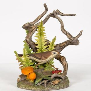 Boehm Northern Water Thrush Figurine