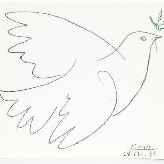 "After Pablo Picasso ""La Colombe"" Lithograph"