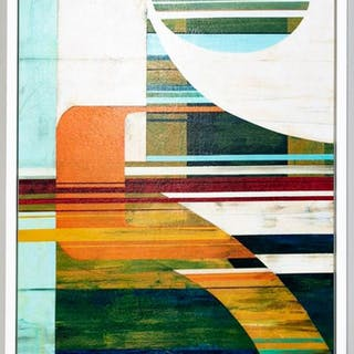 Sydney Edmunds, Large Abstract Geometric Giclee