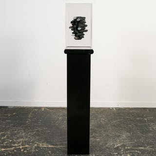 Gary Copeland, 3D Sculpture on Lighted Pedestal
