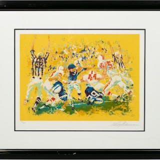 Leroy Neiman Touchdown, Football Serigraph