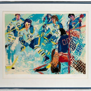 """Leroy Neiman """"French Connection"""", 1977 152/300"""