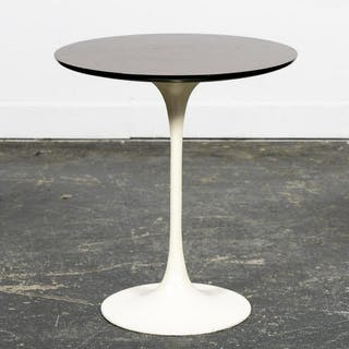 Saarinen for Knoll Small Tulip Table, Mahogany Top