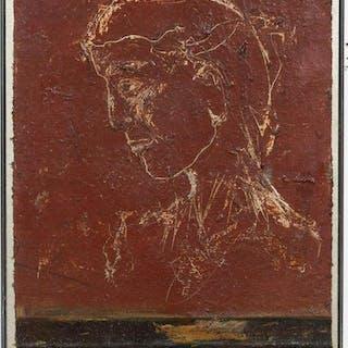 """Kathleen Morris """"Terese"""" Figural Oil Portrait"""
