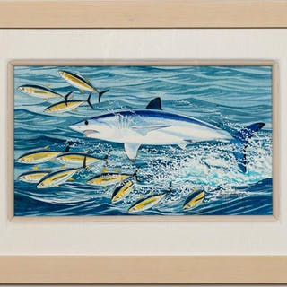 "Guy Harvey, ""Portraits from the Deep"" Gouache"