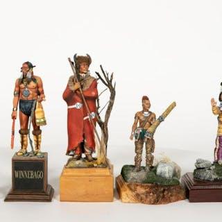 Five, Native American Miniature Scale Models