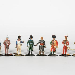 Ten, Traditions of London Scale Model Soldiers