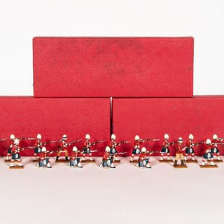 18 Pc, Trophy Miniatures Lead Toy Soldiers