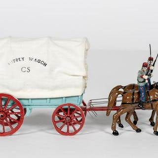 North Shore Miniatures, Supply Wagon Toy Soldier