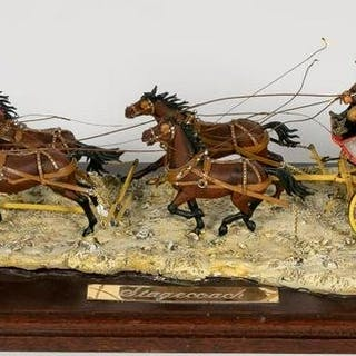 Wells Fargo Stagecoach Overland Express Model