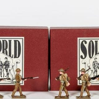 8 Pc, WWI U.S Marine Corps Toy Soldiers