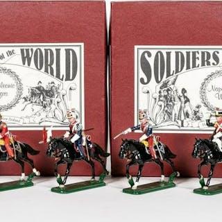 6 Pc, Napoleon's Polish/ Dutch Lancers Toy Soldier