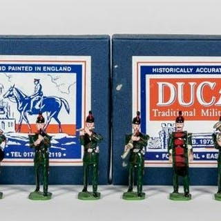 12 Pc, Ducal Models Marching Band Toy Soldiers