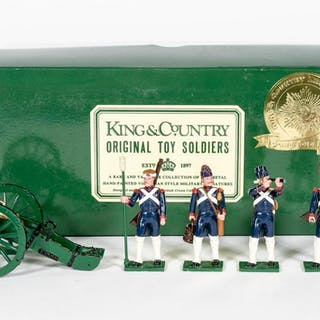 Soldiers of the World Cannon Regiment Toy Soldiers