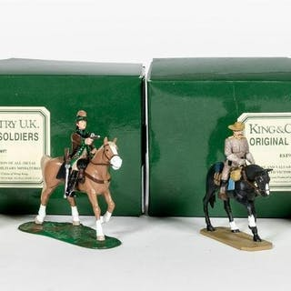 King & Country and Leman's Mounted Toy Soldiers