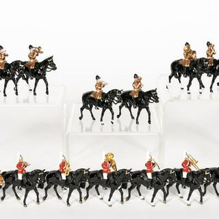 15, Queen Elizabeth Royal Trumpeters Toy Soldiers