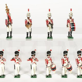 12 Pc, Traditons of London Band Member Toy Soldier