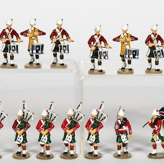 15 Pc, Frontline Figures Royal Marines Toy Soldier