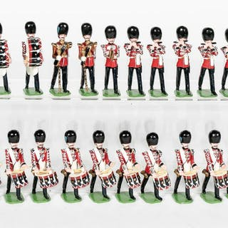 """20 Pc, Ducal """"Queens Guard"""" Marching Band"""