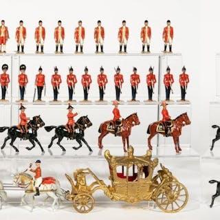 Circa 1937, Britains Coronation Display Set #1477