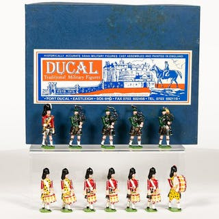 """Ducal Models """"Seaforth Highlanders"""" Toy Soldiers"""