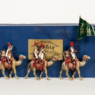"3 Pc, Marlborough ""Durbar"" Series Toy Soldiers"