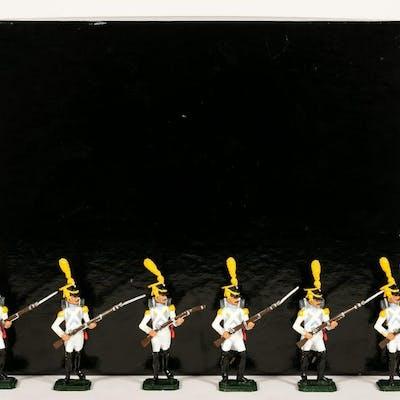 "6 Pc, Ani (IR) Napoleon ""Waterloo"" Toy Soldiers"