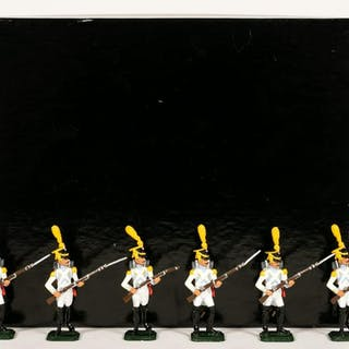 "6 Pc, Ani (IR) Napoleon ""Waterloo"" Toy Soldiers"