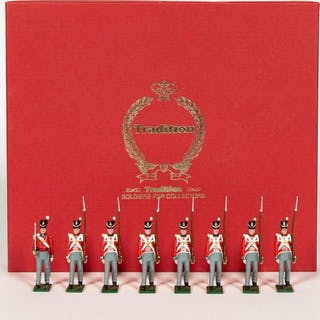 """8 Pc, Tradition """"British Infantry of the Line"""""""