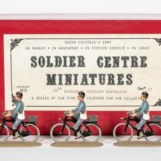 10 Pc 26th Middlesex Cyclist Battalion Toy Soldier