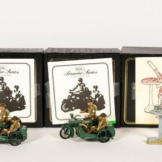 Britains, Premier Series Vickers Machine Soldiers