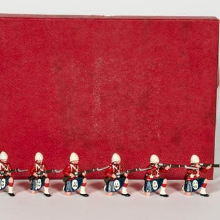 6 Pc, Unidentified Maker Toy Soldiers