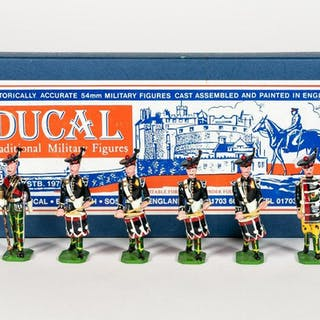 """6 Pc, Ducal """"The Royal Navy Marching Band"""" Soldier"""