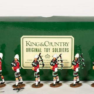 King and Country Seaforth Highlanders Pipe Band