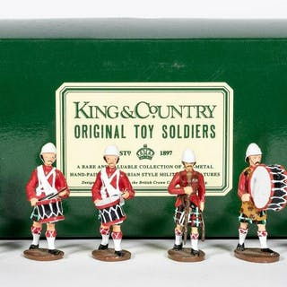 "King and Country ""British Highlander"" Toy Soldiers"
