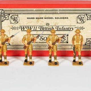 6 Pc, 8th Army of North Africa Toy Soldiers