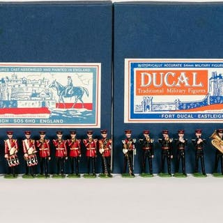 24 Pc, Ducal Marching Band Toy Soldier Regiments