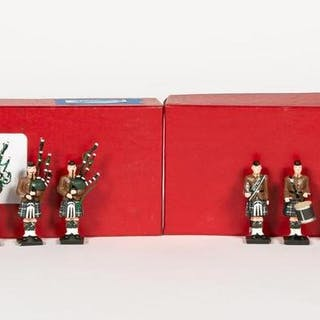 12 Pc, Scottish Marine Piper Band Toy Soldiers