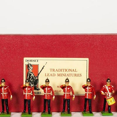 10 Pc, Britains 1988 Royal Drummer Guard Soldiers