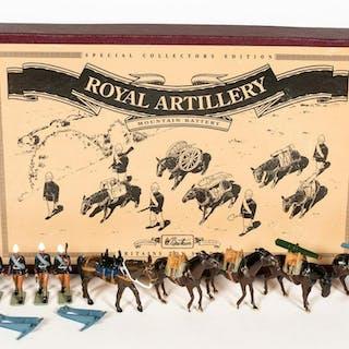 "Britains ""Royal Artillery, Mountain Battle"" Set"